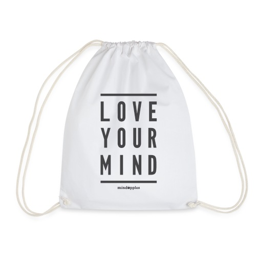 Mindapples Love your mind merchandise - Drawstring Bag