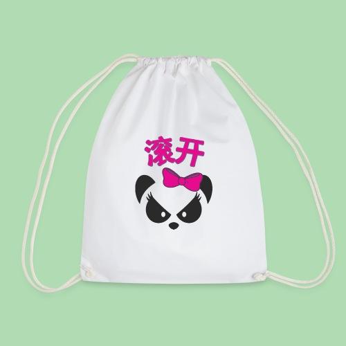 Sweary Panda - Drawstring Bag