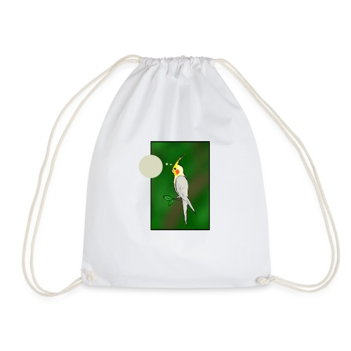 Cockatiel - Drawstring Bag