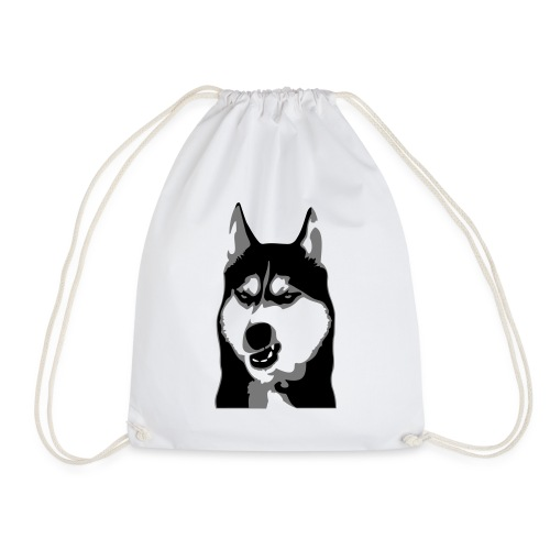 Grumpy Dog - Husky - Turnbeutel