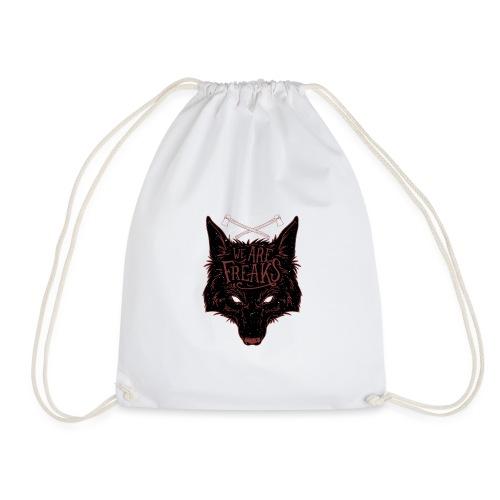 We are freaks - Drawstring Bag