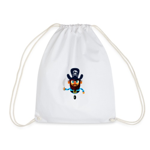 The Pirate King - Drawstring Bag