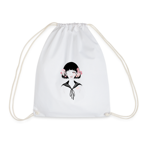 Flowerhead - Drawstring Bag