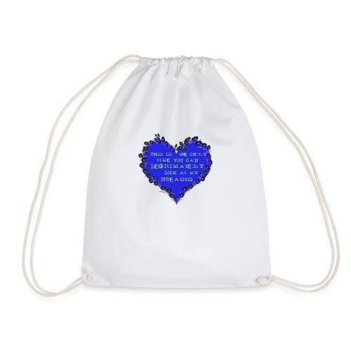 Cheeky heart - Drawstring Bag