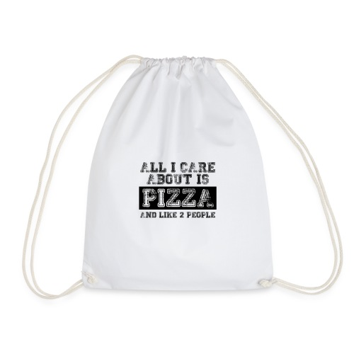 All I care about is... - Mochila saco