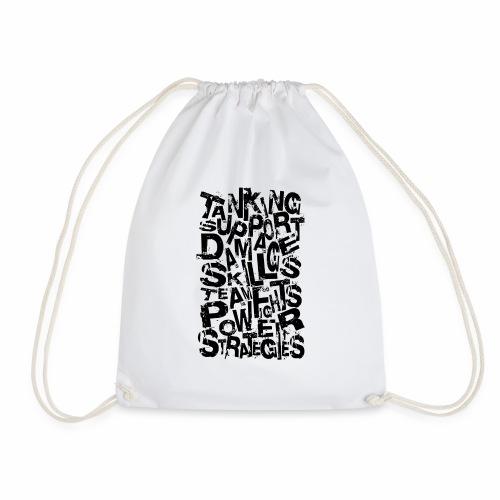 Typography of Legends - Drawstring Bag