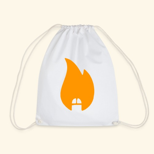 dicksonfire.png - Drawstring Bag
