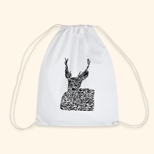 deer black and white - Jumppakassi