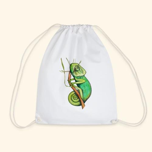 green chameleon - Sacca sportiva