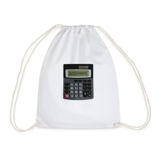 QUICK MATHS - MEMESNOTHOT - Drawstring Bag