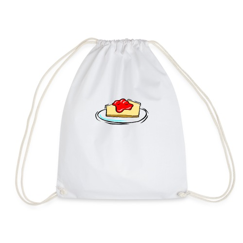 cheesecake clipart biyB9B9iL png - Drawstring Bag
