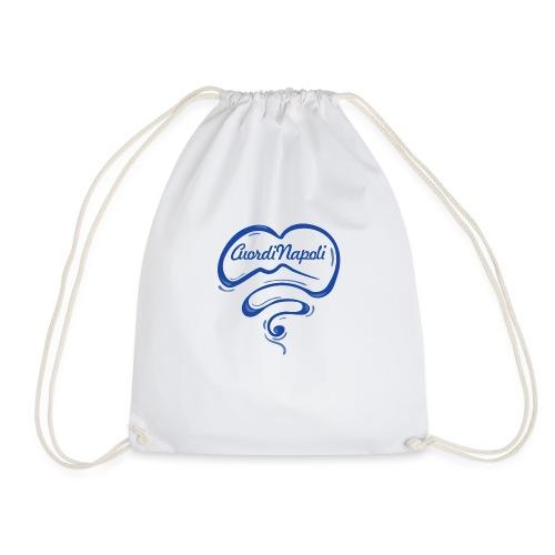 New Logo CuordiNapoli Blu - Sacca sportiva