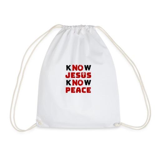 Know Jesus Know Peace (Classic) - Turnbeutel