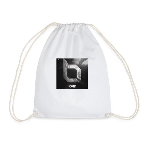 Raid Away - Black Shirt - Drawstring Bag