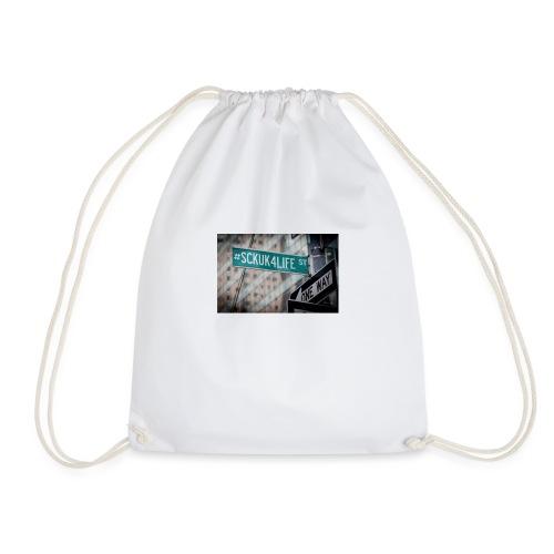 Street Sign - Drawstring Bag