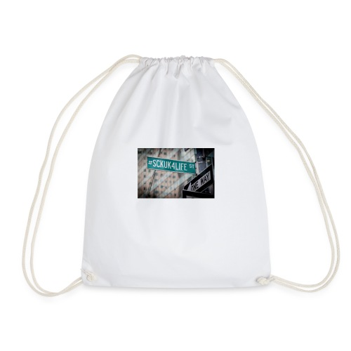 Street Sign - Drawstring Bag