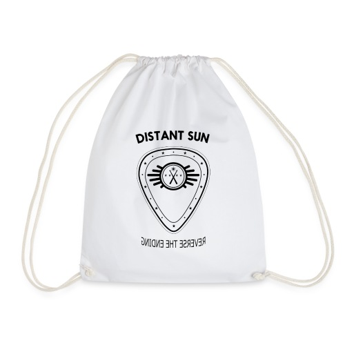 Distant Sun - Mens Standard T Shirt Grey - Drawstring Bag