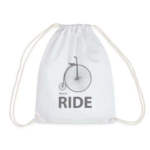 Born To Ride - Drawstring Bag
