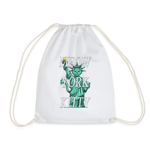 Meow York Kitty - Drawstring Bag