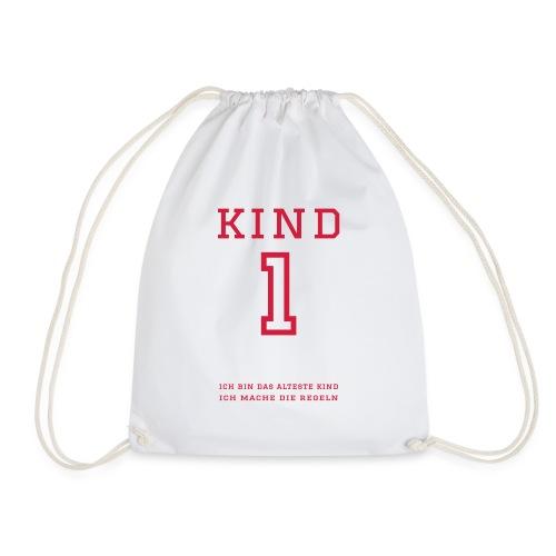 Kind 1 (personalisierbar) - Turnbeutel