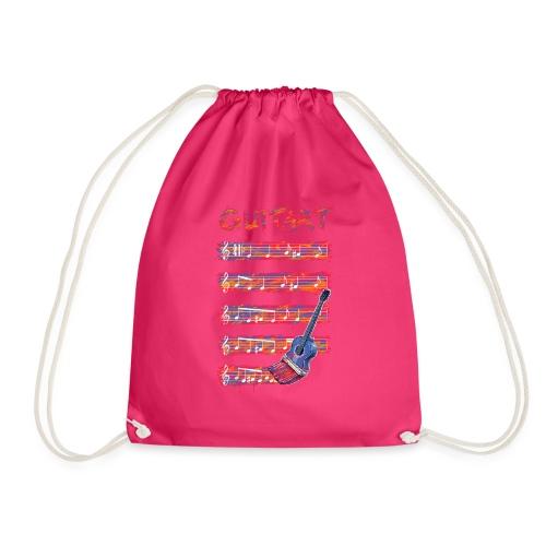 GuitArt - Drawstring Bag