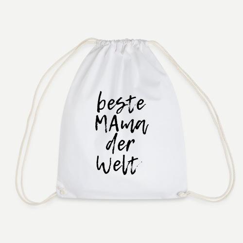 beste Mama der Welt - Turnbeutel