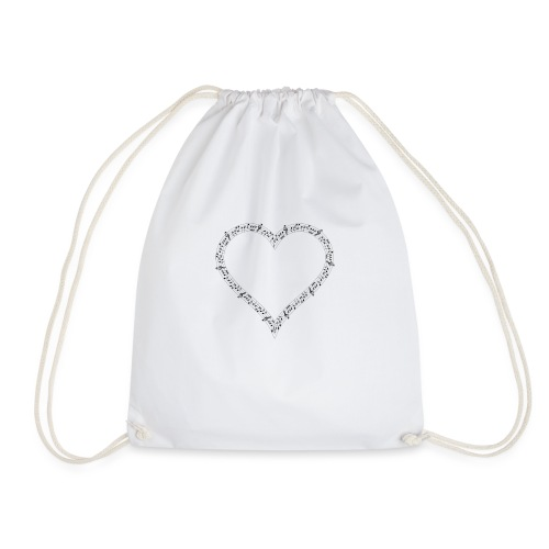 Music of Life Ladies Fitted - Drawstring Bag