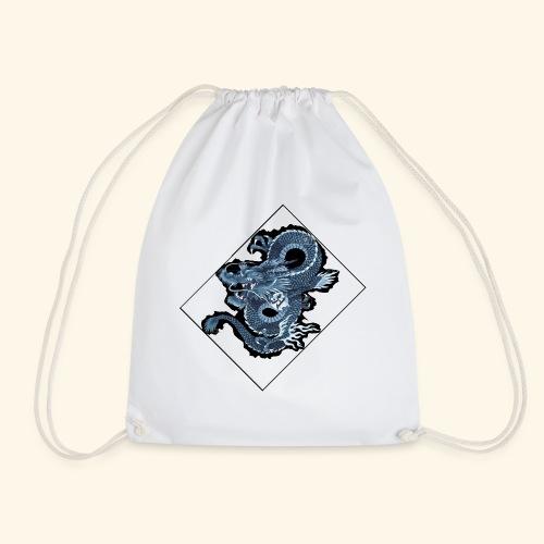 dragon bleu - Mochila saco