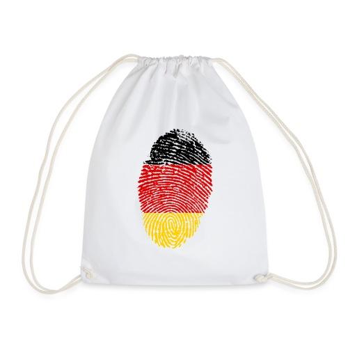GERMANY FINGERPRINT - Drawstring Bag