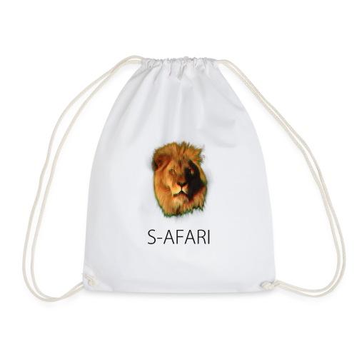 S-AFARI Lion - Drawstring Bag
