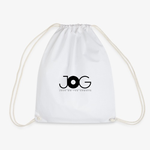 jog logo black - Sacca sportiva