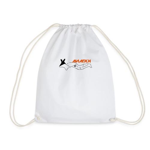 Katana motorcycle outline - Drawstring Bag