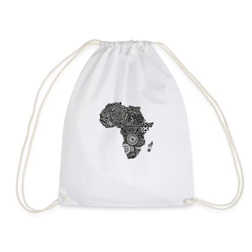 frica png - Drawstring Bag