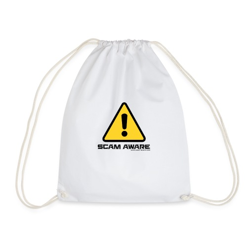 scam-aware.com's line of clothing - Drawstring Bag