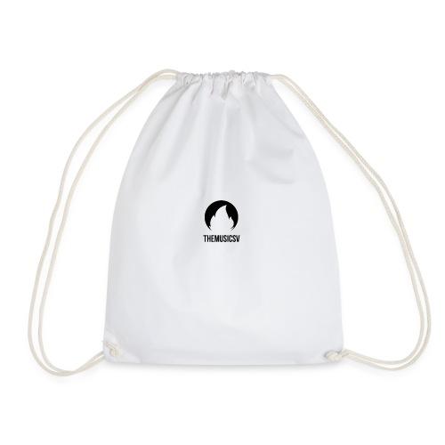 TheMusicSV [Galaxy S4 Premium Case] (Color: Black) - Drawstring Bag