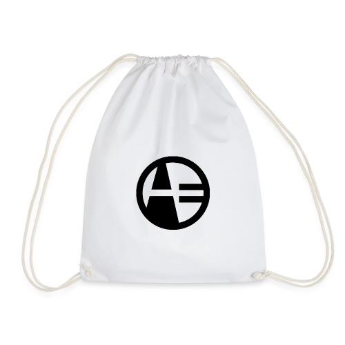 LOGOTYPE black - Drawstring Bag