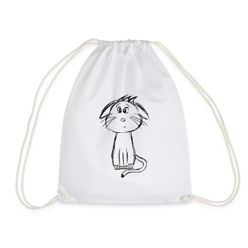 Kat kattunge sort scribblesirii - Sportstaske
