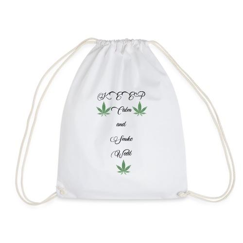 Keep Calm and Smoke Weed - Turnbeutel