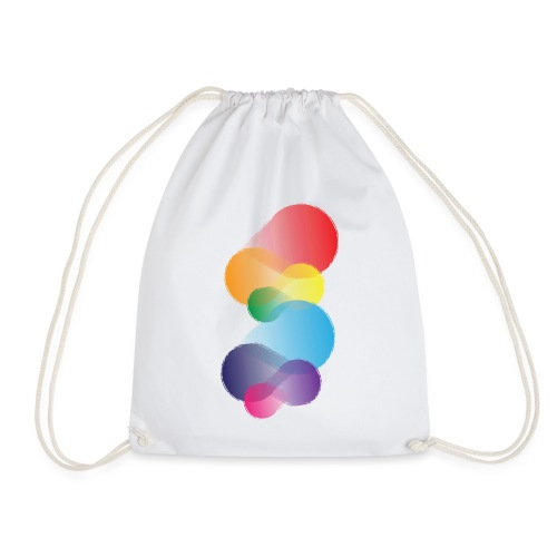 Colourful Abstraction - Drawstring Bag