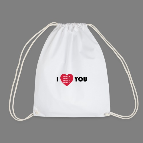 i love you - Turnbeutel