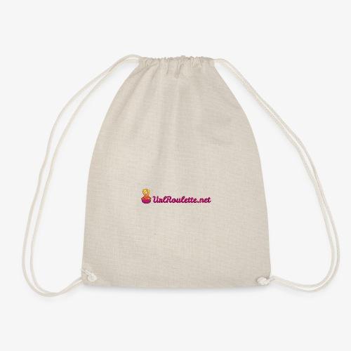 UrlRoulette Logo - Drawstring Bag