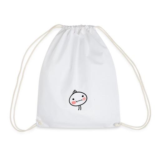 Blushing Mino - Drawstring Bag