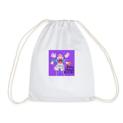 198375 4260054144999 212819122baby needs boob6 n - Drawstring Bag