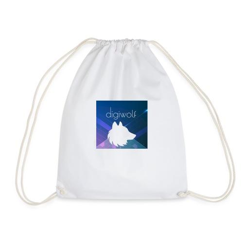Digiwolf Logo Print - Drawstring Bag