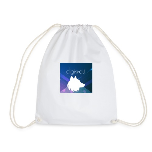Digiwolf Logo Print - Drawstring Bag