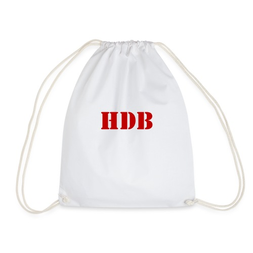 HDB Mok binnenkant rood - Gymtas
