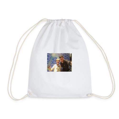 old logo shirt - Drawstring Bag