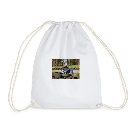 the new ashdab21 logo - Drawstring Bag