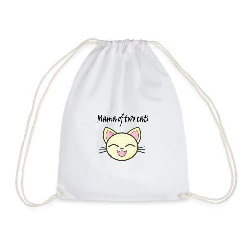 Katzen mama Katzenshirt - Turnbeutel