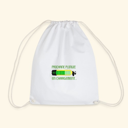 plongee en charge - Drawstring Bag